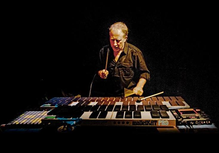 Ed Mann plays on New World the Percussion arrangement on 'Collision'. Used instruments: Bambu Marimba, Gong, Concert Bass Drum, Glockenspiel, Hammer Dulcimer, Kelon Marimba, Piatti, Timpani, Tubular Chimes and Wood Marimba.